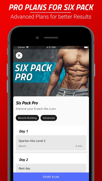 Six Pack Abs Workout Challenge