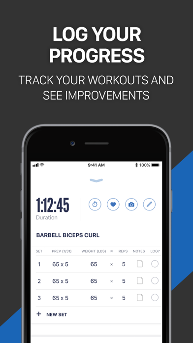 Fitness Buddy+ Gym Workout Log