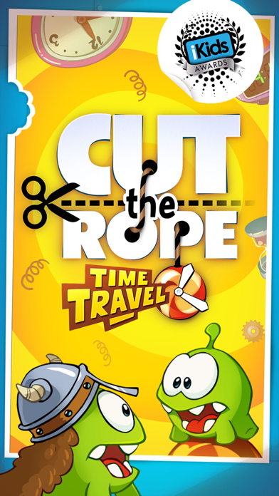 Cut the Rope: Time Travel GOLD