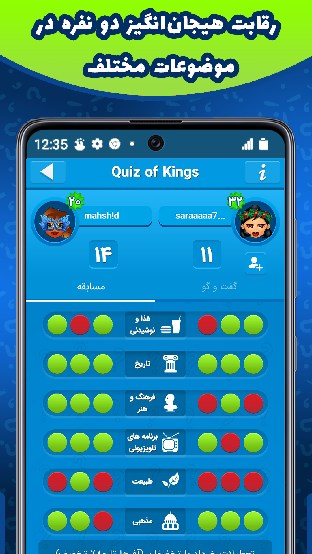 Quiz of Kings